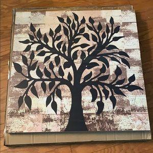 Kirklands Tree of Life Painted on Wood NWT
